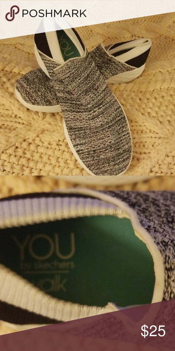 Shoes. You walk by sketcher | Walking