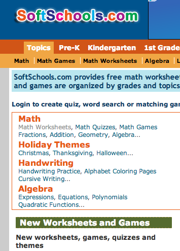 Free Games Worksheets And Quizzes In The Areas Of Language Arts Math Science Social Studies And Foreign Languages O Phonics Worksheets Free Math Worksheets