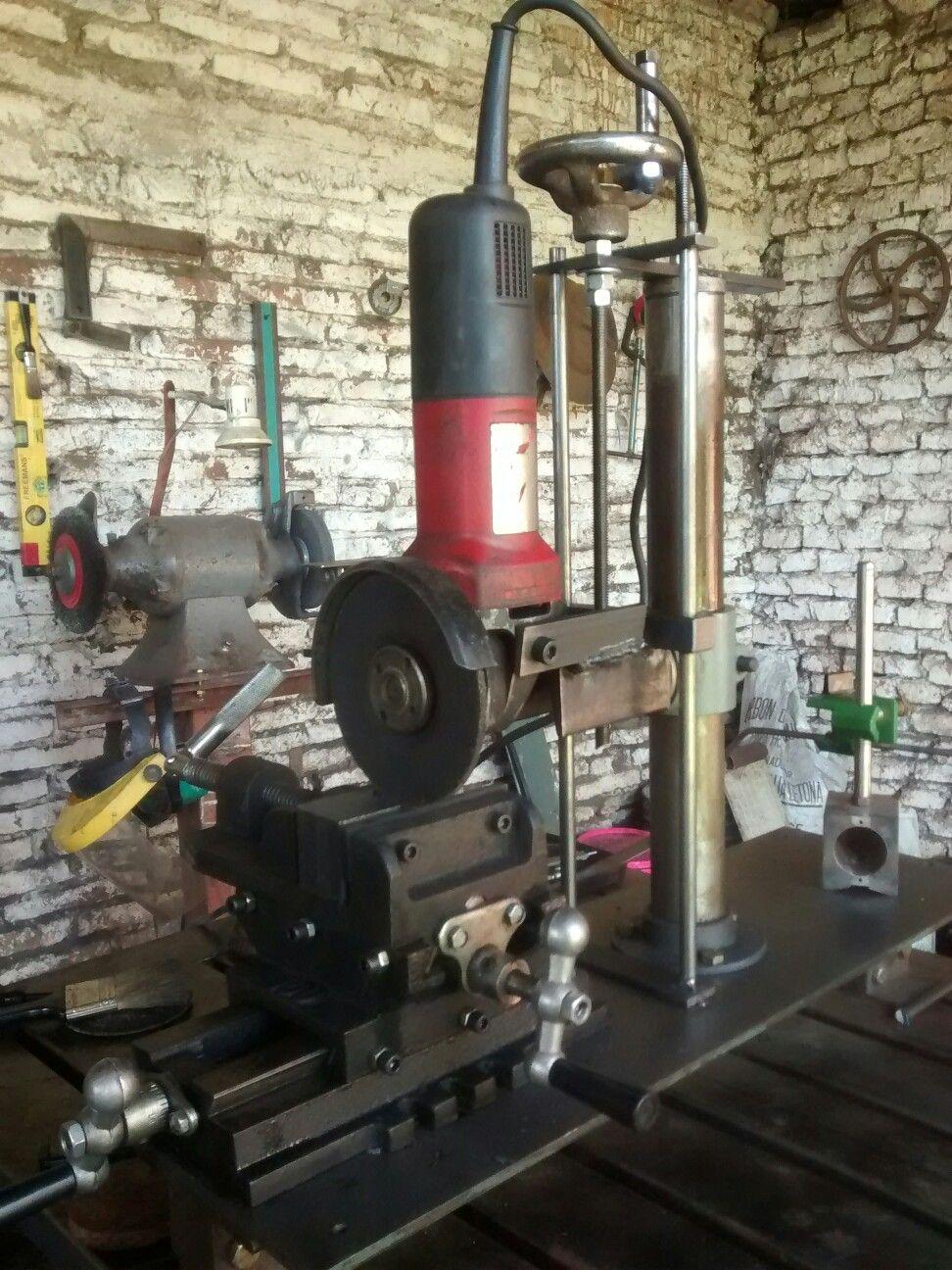 Shopmade Surface grinder-rectificadora casera
