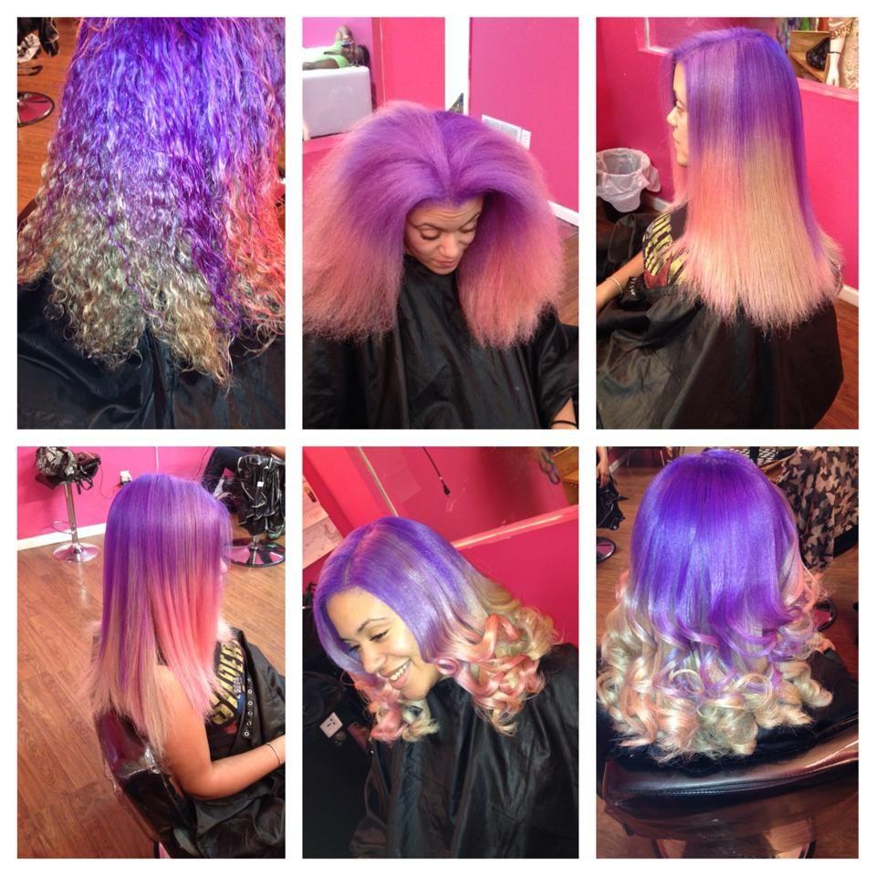 403 Forbidden Purple Ombre Hair Ombre Hair Color Lilac Hair