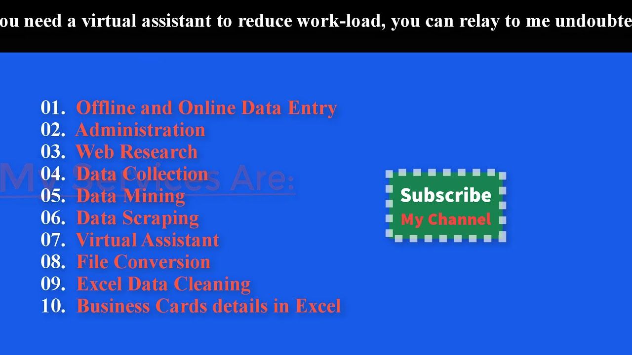 data entry copy paste and web research how to do web research job