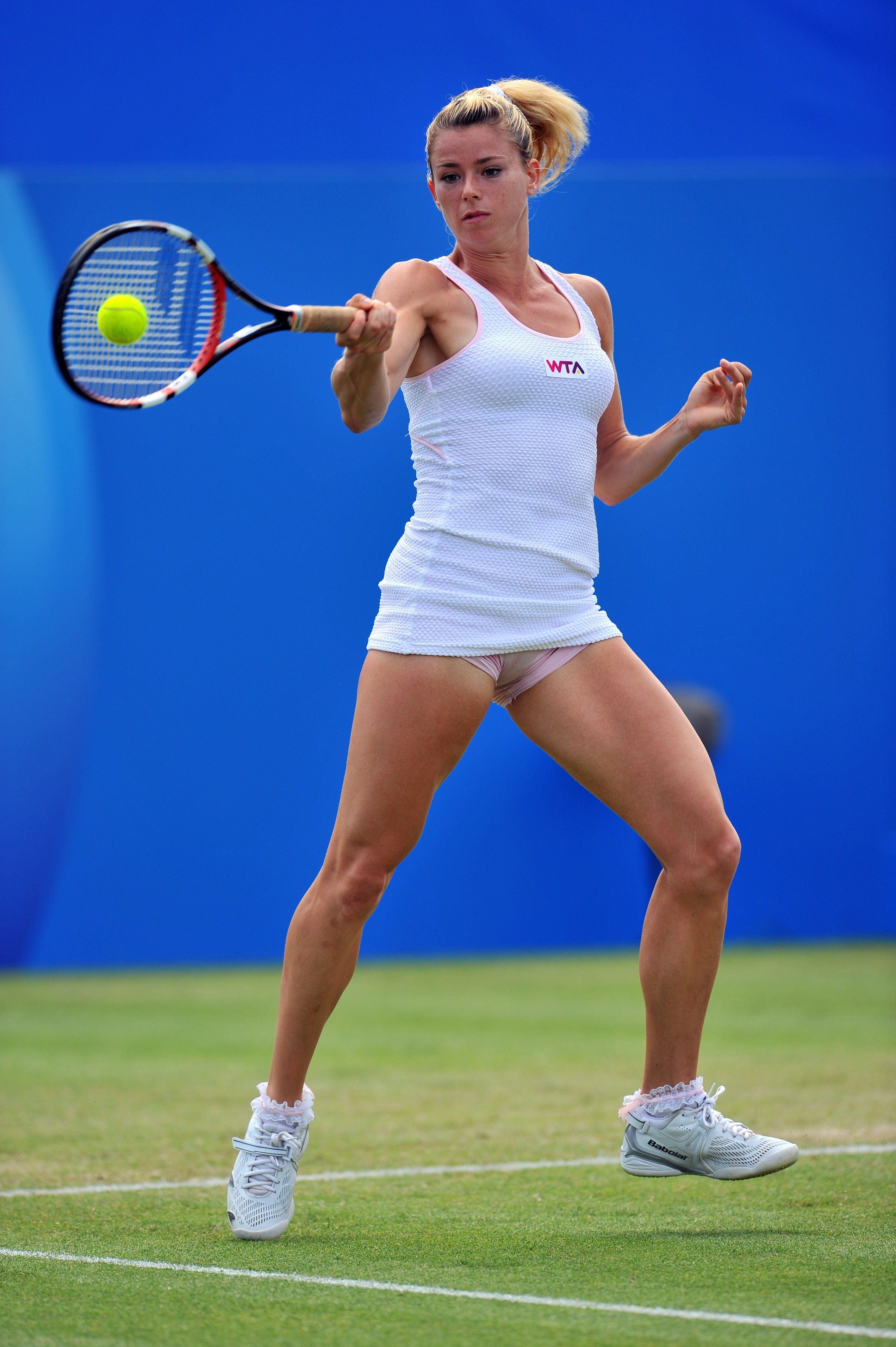 Free of tennis players upskirt
