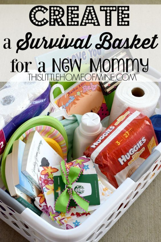 Survival Kits For New Moms Baby Shower Ideas New Mom