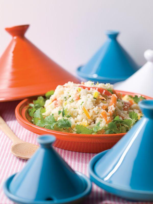 Couscous met groenten & koriander