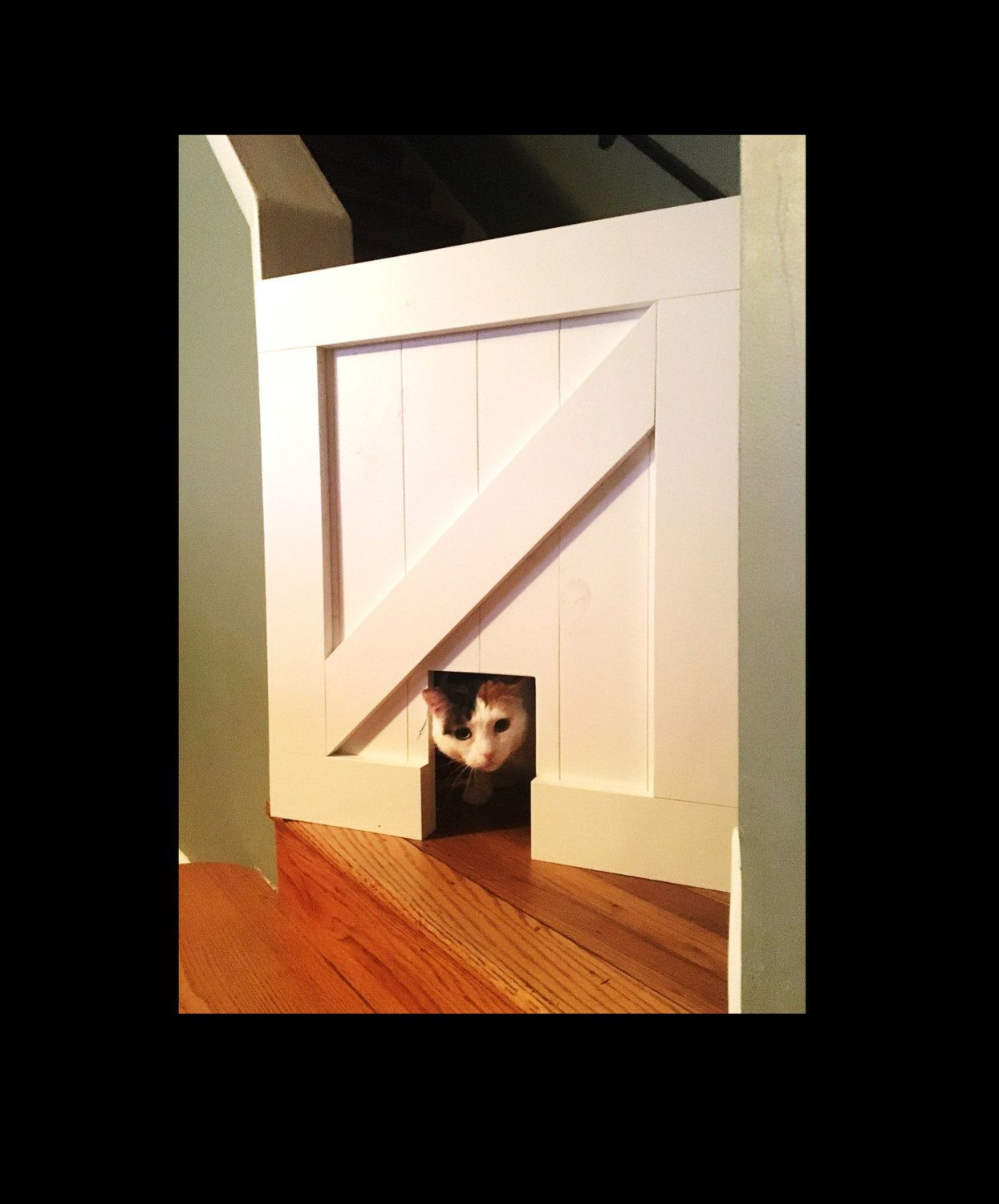 Pet Security Gate Barn Door Baby Gate Made To Fit Rustic
