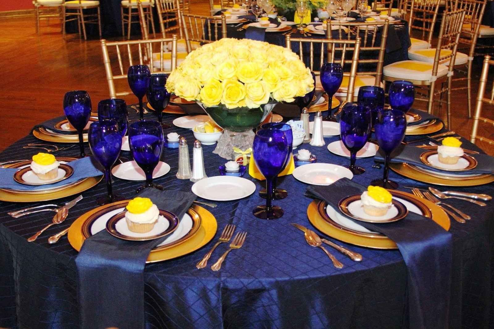 Royal Blue And Yellow Wedding Theme Yellow Wedding Theme Yellow Wedding Blue Themed Wedding