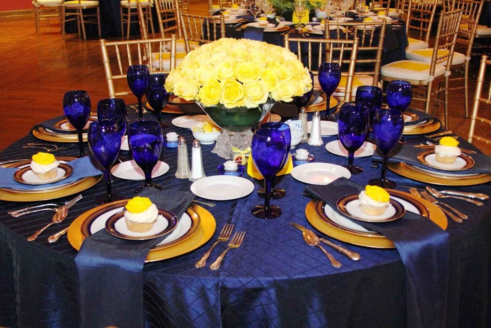 Royal Blue And Yellow Wedding Theme Yellow Wedding Theme Yellow