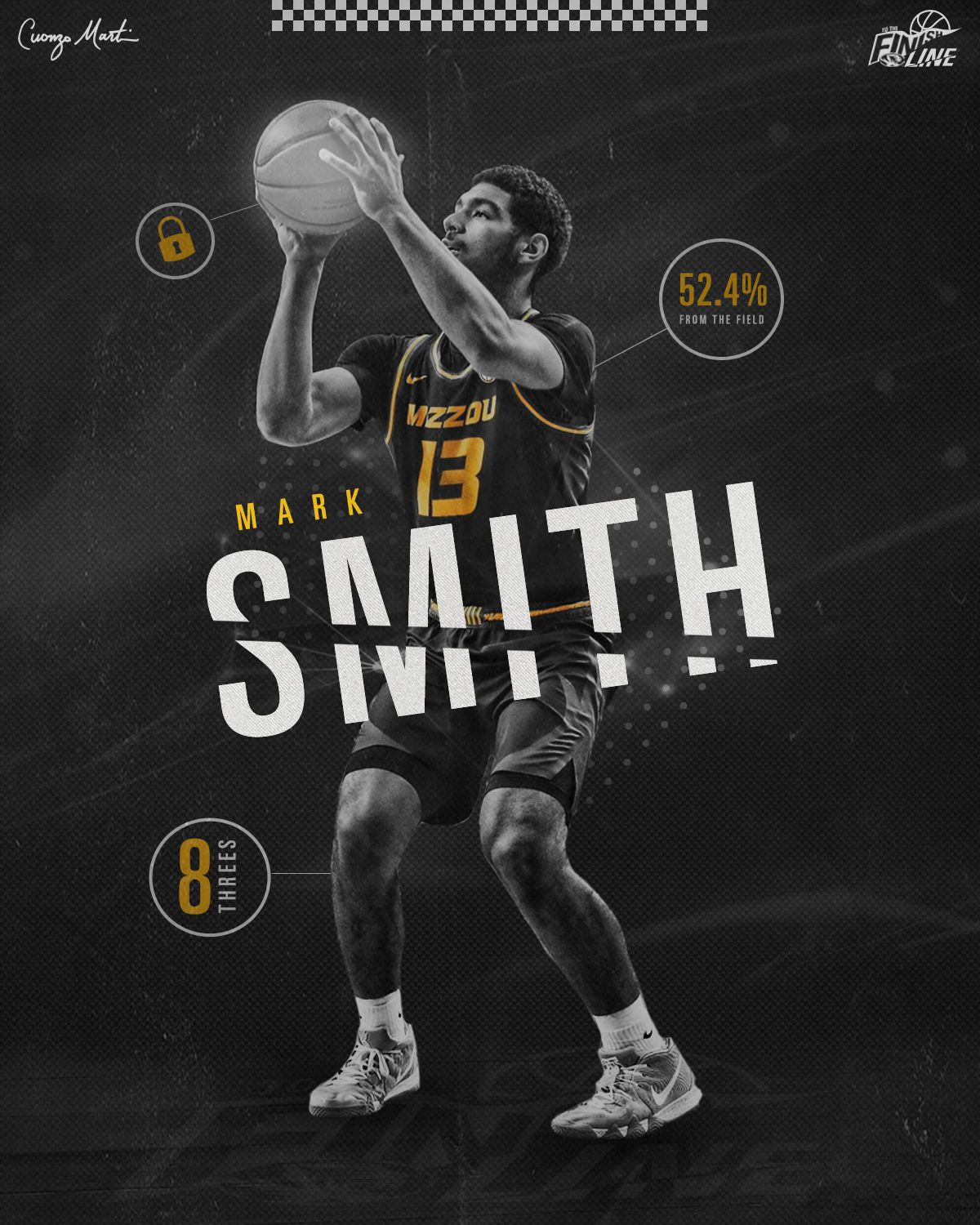 Mizzou Basketball Stat Graphics on Behance (With images