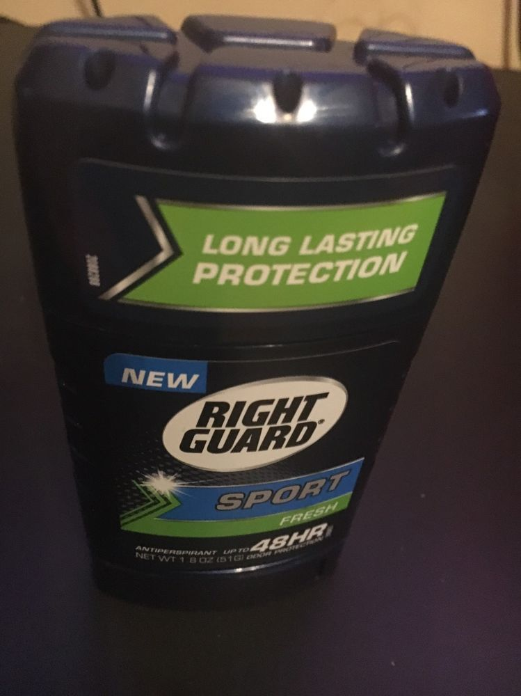 5 New Right Guard Sport Fresh 48 hr Antiperspirant 1.8oz