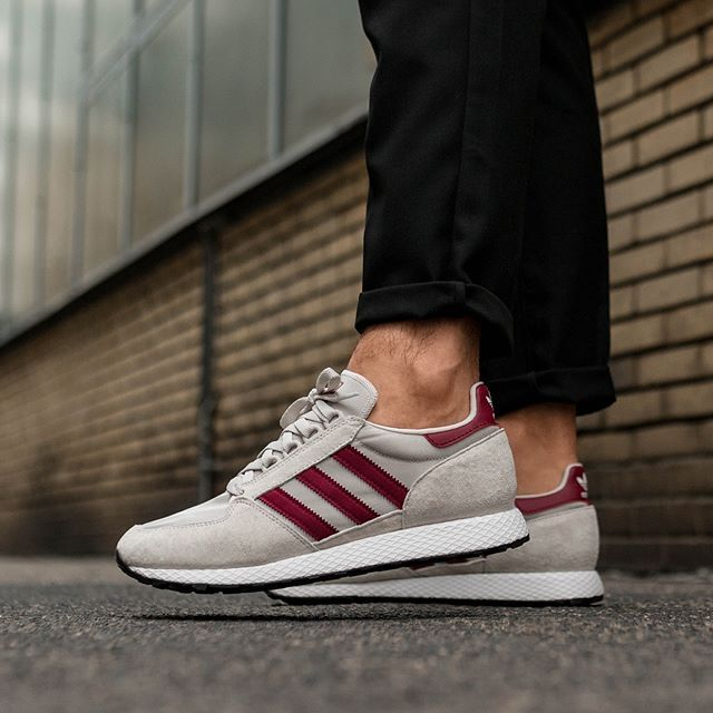 adidas Forest Grove (Chalk Pearl   Ftwr White   Core Black)  f24749b8d