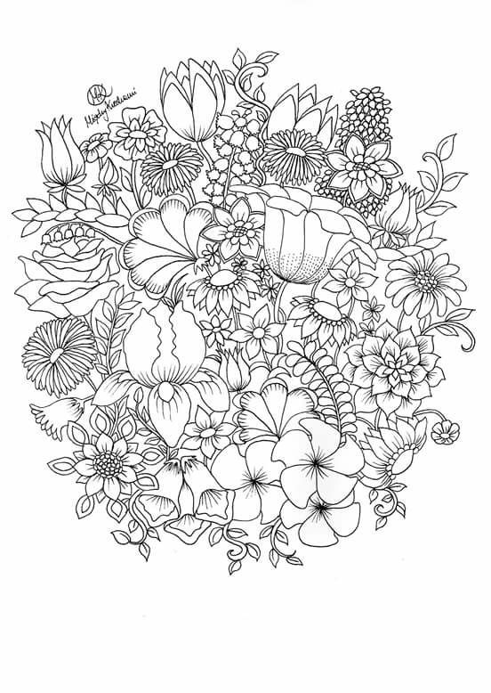 Fosterginger Pinterest Commore Pins Like This One At Fosterginger Pinterest No Pin Limitsでこのようなピ Creation Coloring Pages Flower Coloring Pages Coloring Pages