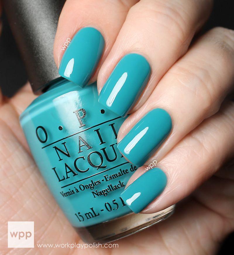 Opi Blue Nail Polish, Nails, Opi