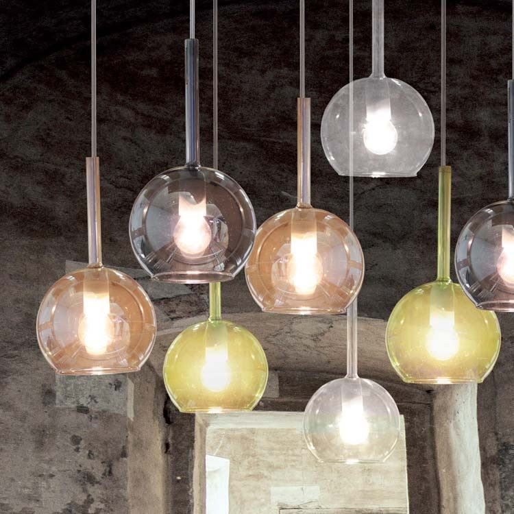 vendita online di lampade a sospensione, lampade in vetro