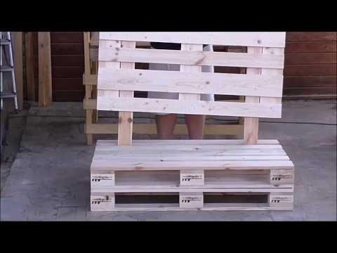 Come Costruire Un Divano Con I Pallet Tutorial Leroy Merlin