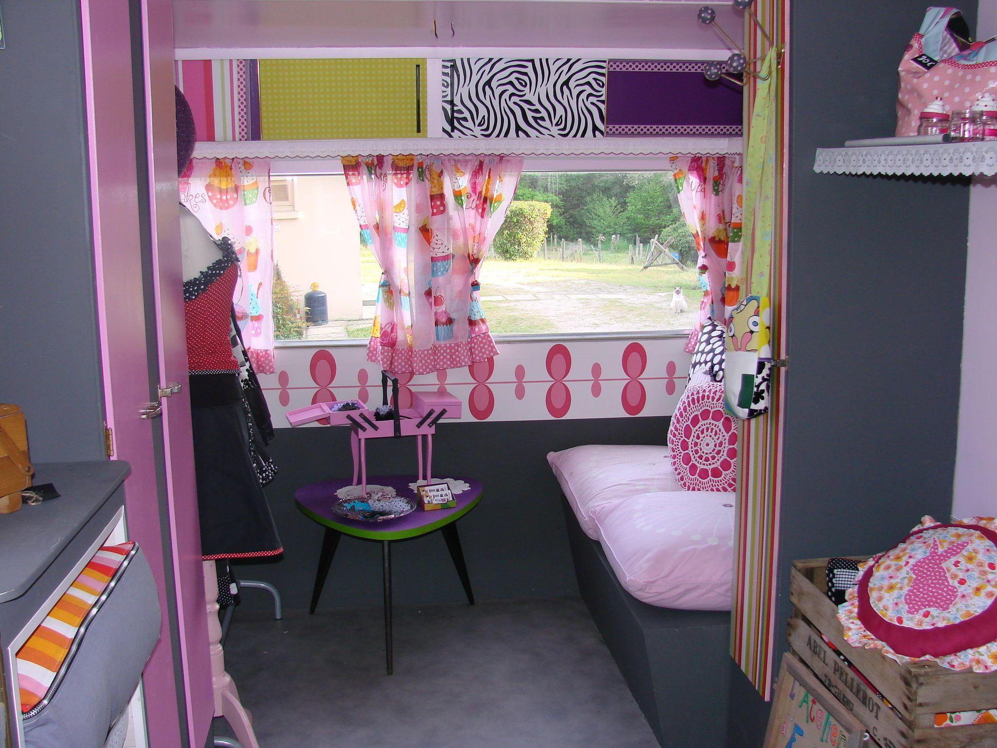 relooking caravane couture caravan palace pinterest customisation plans et caravane. Black Bedroom Furniture Sets. Home Design Ideas