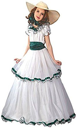 amazoncom girls southern belle kids child fancy dress party halloween costume clothing - Kids Halloween Costumes Amazon