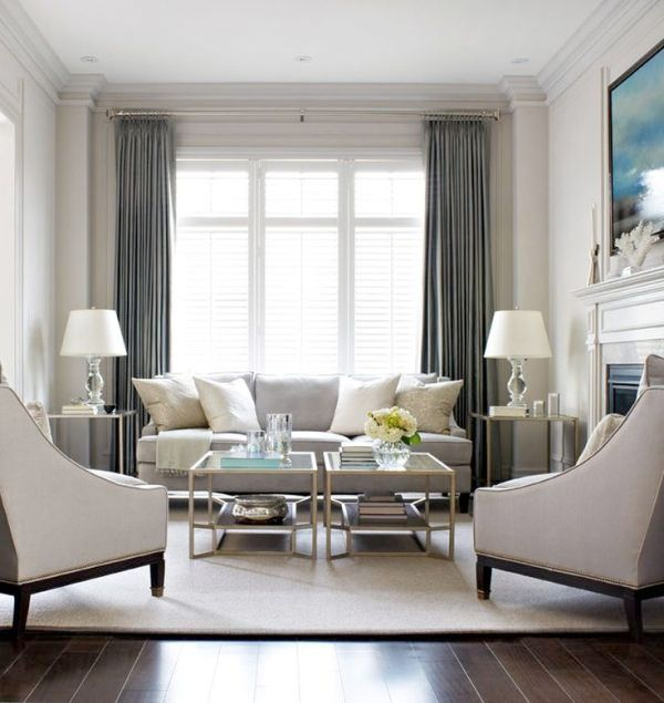 69 Fabulous Gray Living Room Designs To Inspire You: 15 Snyggaste Gardinerna Just Nu + 3 Gardintrender