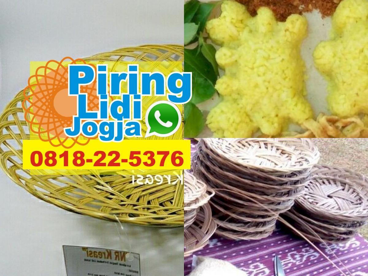 Grosir Piring Lidi Surabaya Piring Rotan Tegal Paket Piring Rotan