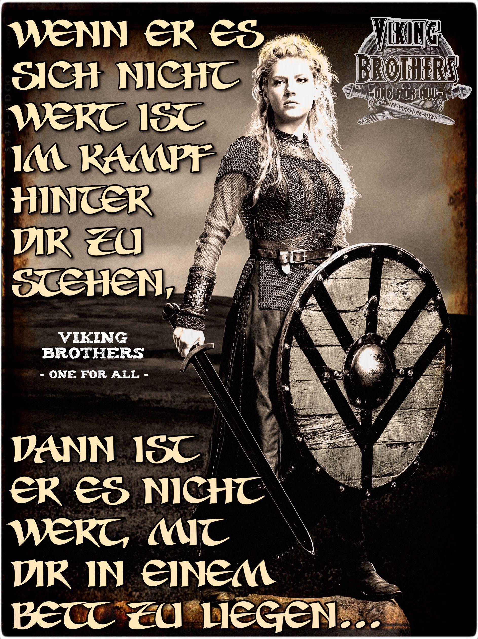 Pin Von Cornelia Pappe Auf Viking Brothers One For All Lebensweisheiten Spruche Wikinger Zitate Weisheiten Spruche