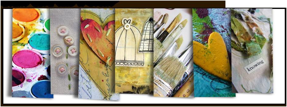 Art JournalConversion - online mixed-media, art journaling course