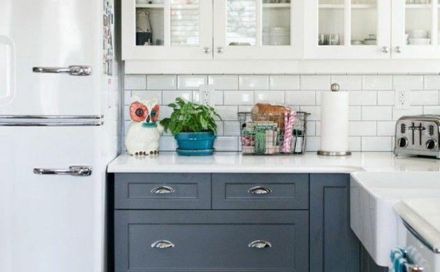 Retro Kühlschrank Grau : Retro kühlschrank bringt stimmung und zauber in die küche mit