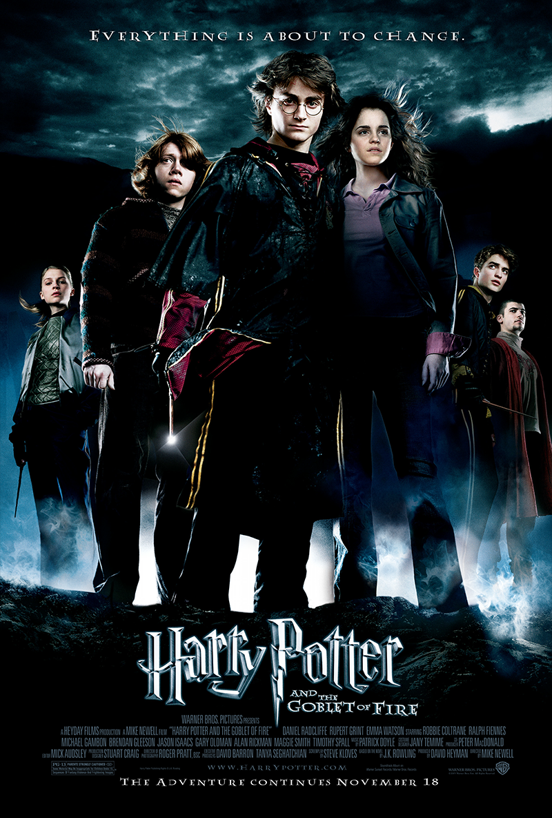 Harry Potter And The Goblet Of Fire 2005 Harrypotter Harry Potter Goblet Harry Potter Movie Posters Harry Potter Movies