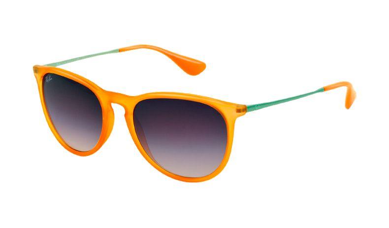 25f5b53b0ea Ray Ban 4171 Erika Sunglasses - Rubber Transparent Orange   Grey Gradient -  RxSport