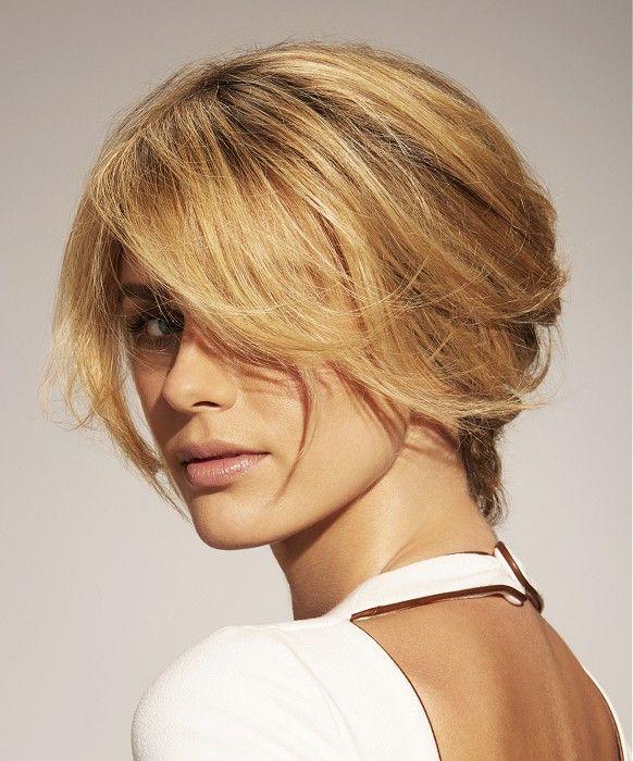 Franck Provost Short Blonde Hairstyles | Idées de coiffures, Cheveux raides blonds et Cheveux ...