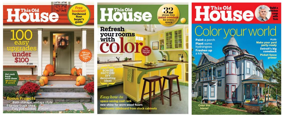 one year subscription to this old house magazine 500 - Houses Magazine Subscription