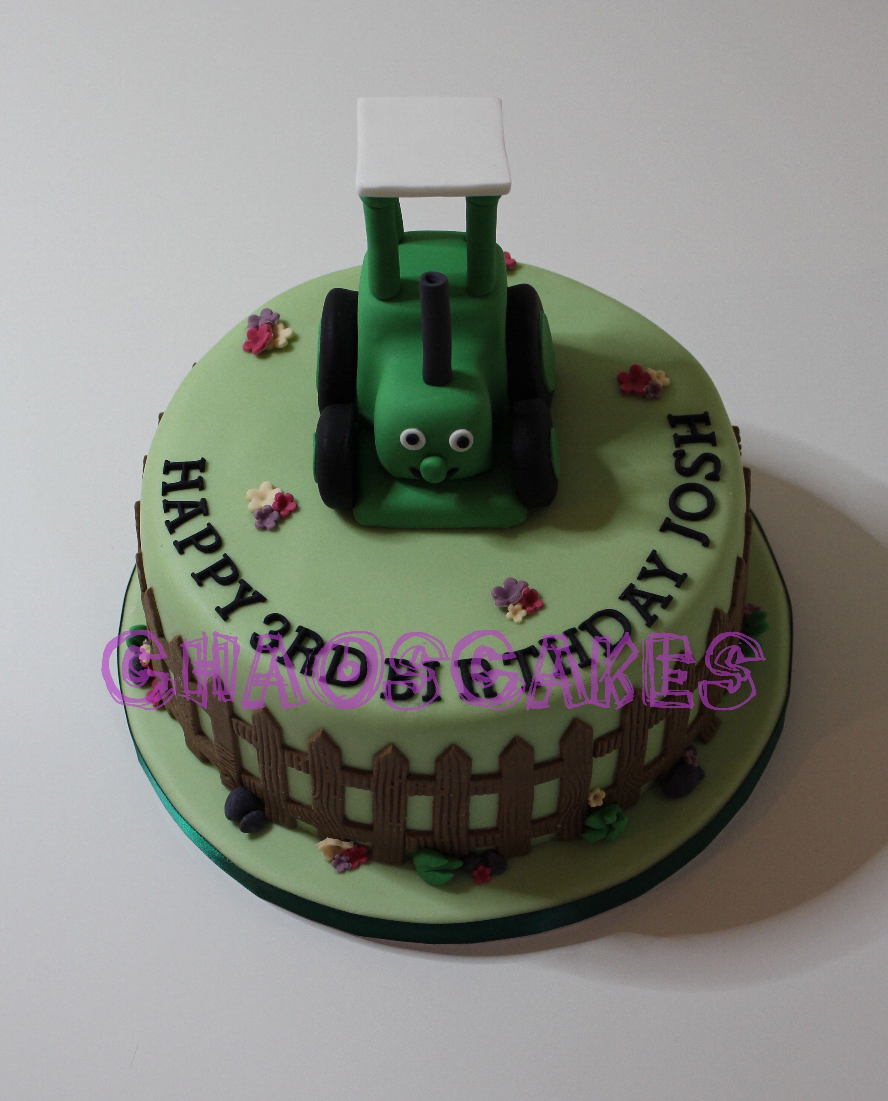 Tractor Ted Cake