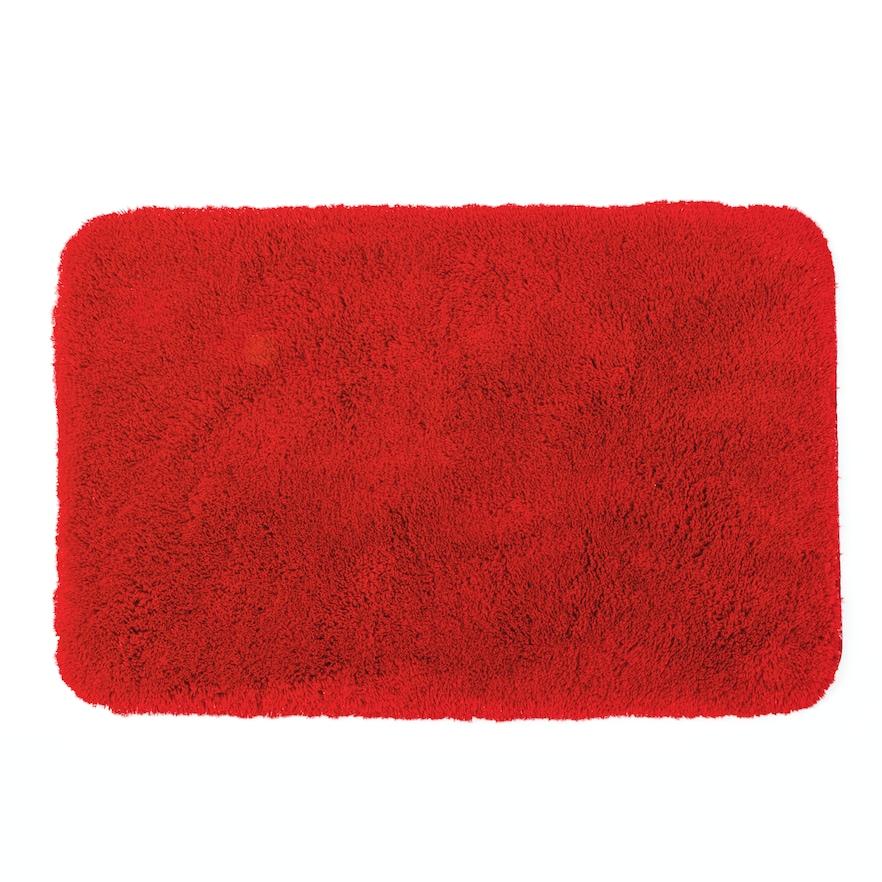 Apt 9a Solid Plush Shag Bath Rug 24 X 38 Red Rugs Bath Rugs
