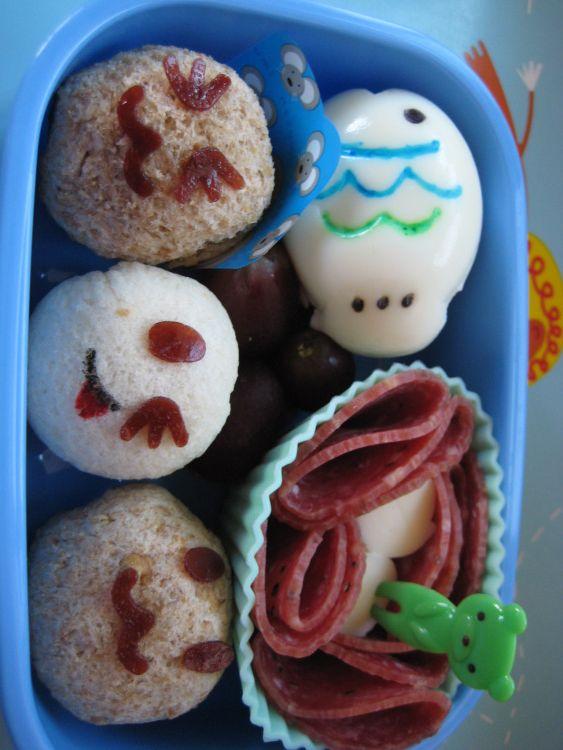 Preschooler Sandwich Ball Bento 110111