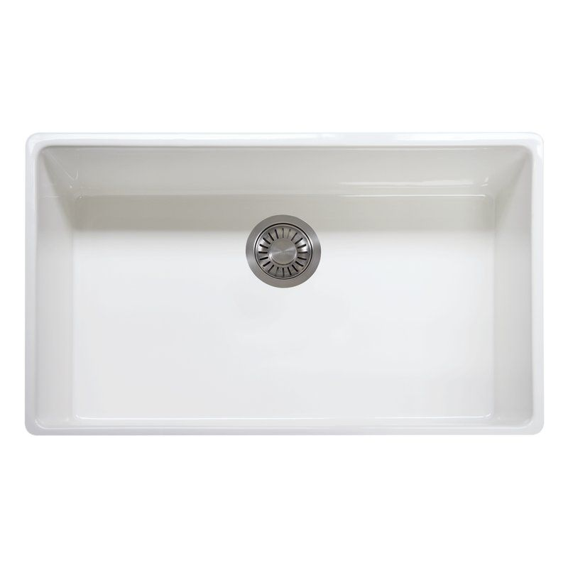 33 L X 20 W Apron Front Kitchen Sink With Images Apron Front Kitchen Sink Sink Single Bowl Kitchen Sink