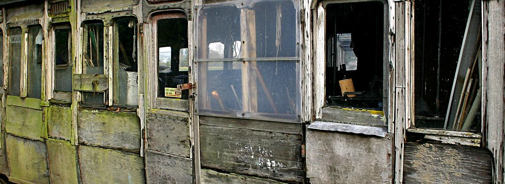 Old railway carriages used as sheds on a farm in North Norfolk | Flickr - Photo Sharing!