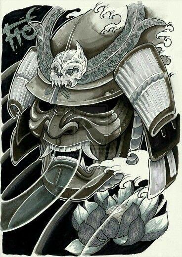 Pin By יואל מרקוס On Samurai Tattoo Ideen Tattoo Vorlagen