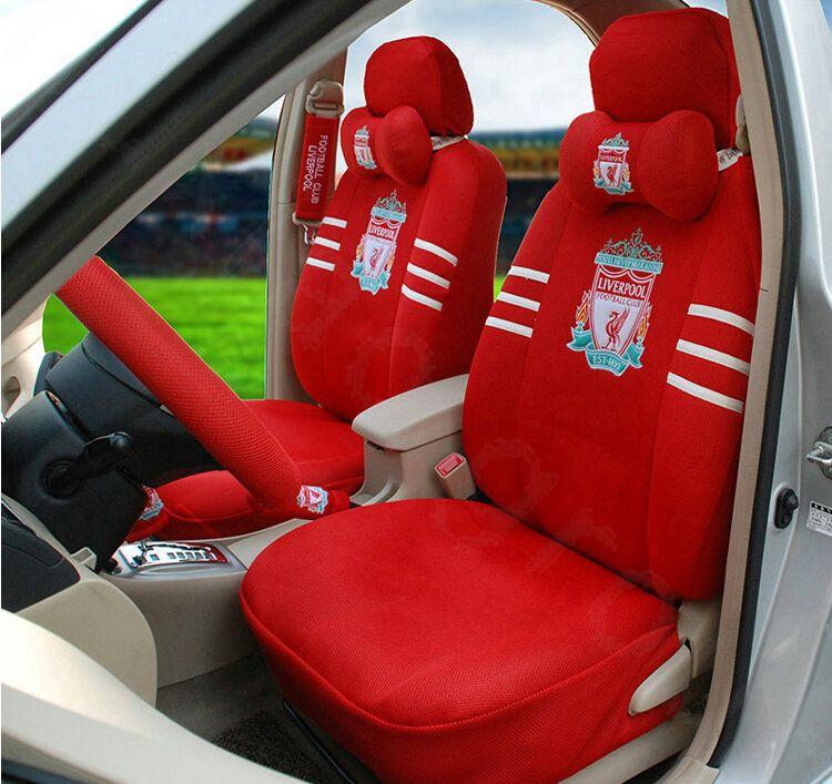 218 56 Oulilai Liverpool Football, Football Car Seat Covers