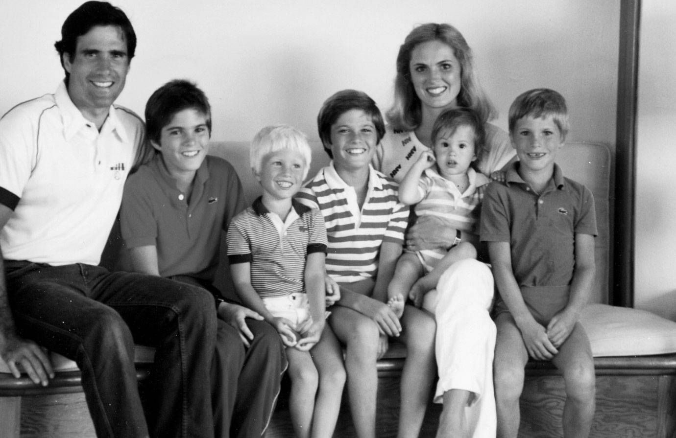 Mitt Romney and his sons.