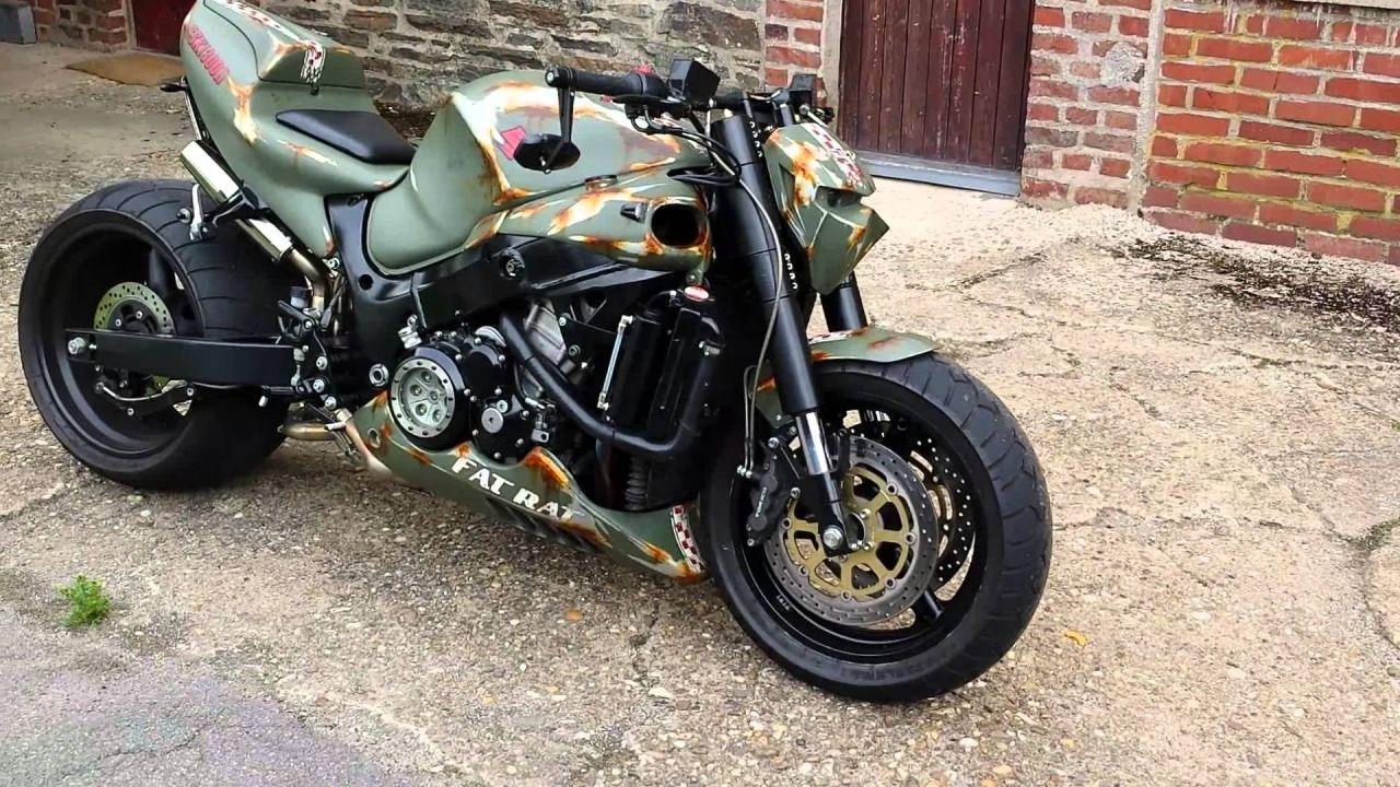 Hayabusa Streetfighter! | motorcycles | Hayabusa streetfighter