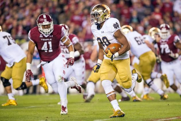 Wake Forest Demon Deacons at Notre Dame Fighting Irish College Football