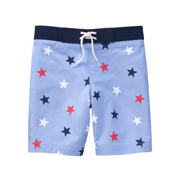 5c39c88eef Star Swim Trunk in 2019 | RED, White & Blue - Baby + Toddler | Swim ...