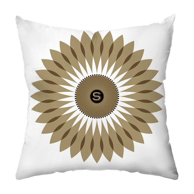 Sunflower Seeds Personalized Throw Pillow - PIL-WFO-JFIL