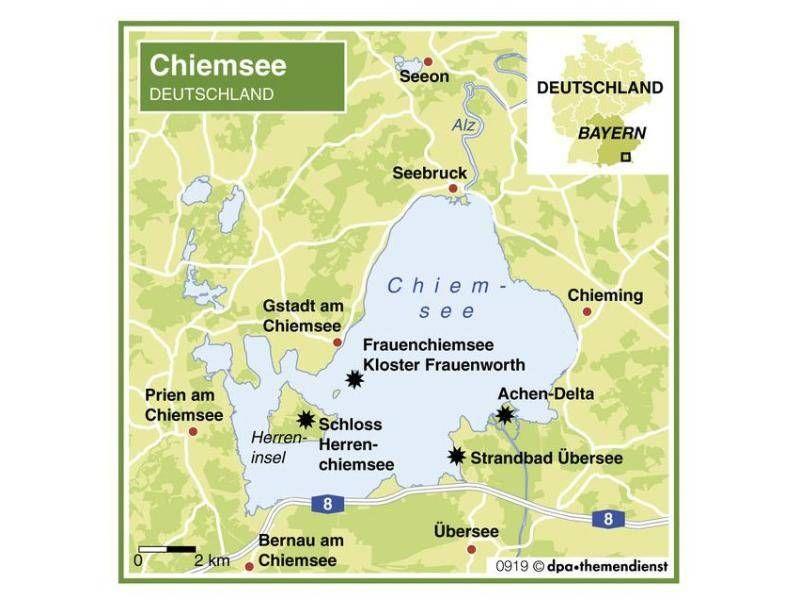 Mit Dem Rad Um Den Chiemsee Radtouren Chiemsee Ausflug