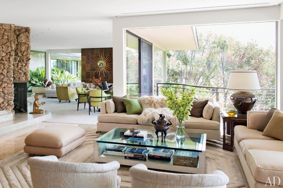 Fashion Photographer Steven Meisel S Midcentury Residence In Los Angeles Midcentury House Celebrity Houses House In Los Angeles Celebrity living rooms part 2
