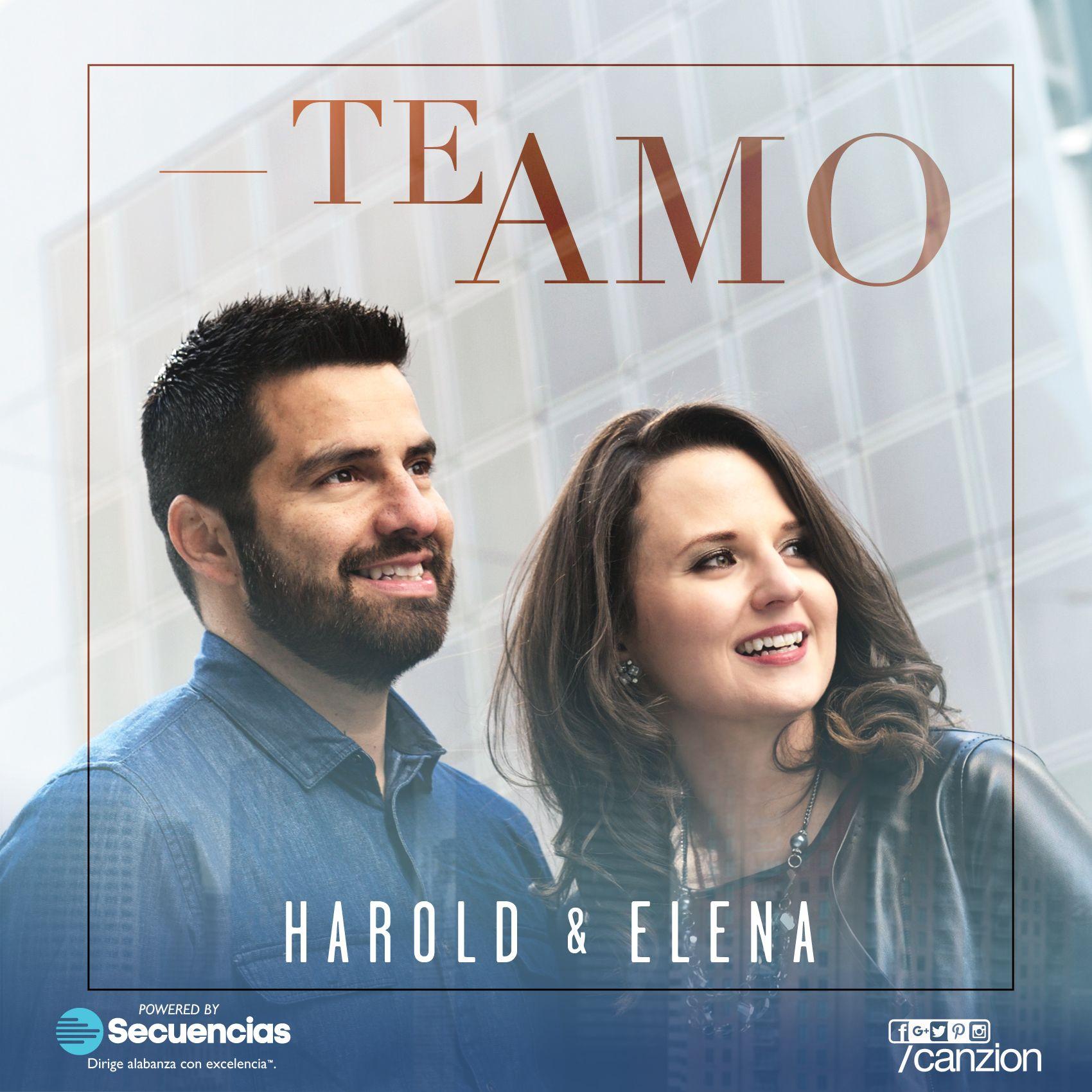 #TeAmo, el nuevo sencillo de Harold Guerra y Elena Witt-Guerra. ¡Ahora disponible en secuencias.com!
