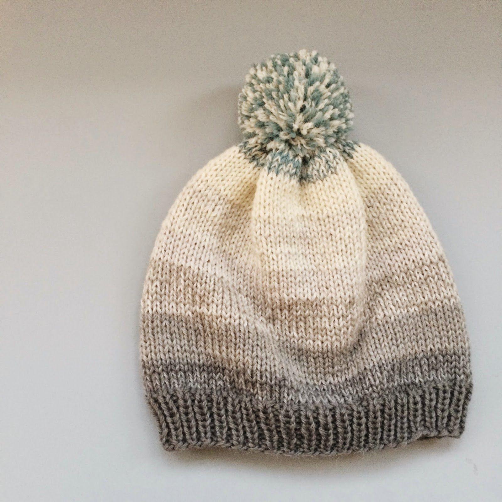 Bobs Beanie - gratis strikkeopskrift fra Meraki | Knitting ...