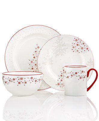 Martha Stewart Winter Woods Collection. This is lovely, tiny red ...