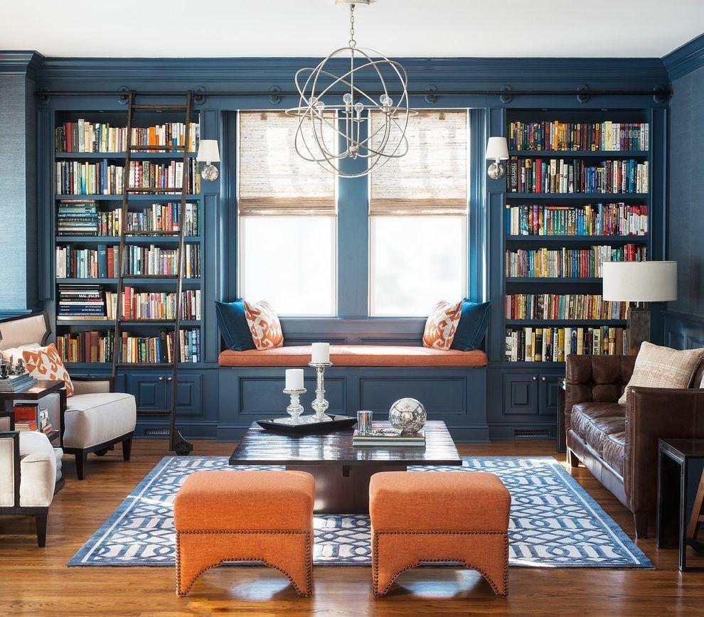 Image Result For Dark Blue Library
