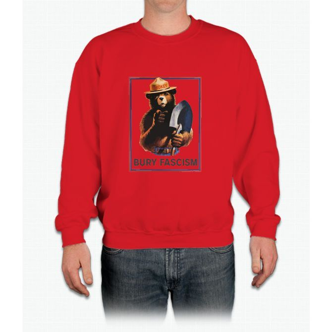 Smokey - Bury Fascism Crewneck Sweatshirt