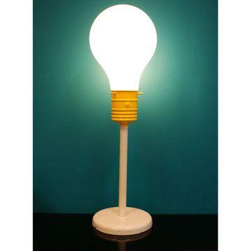 60s Light Bulb Table Lamp Light Bulb Lamp Table Lamp
