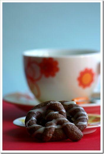 bretzel al cioccolato